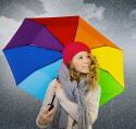 Frau Regenschirm